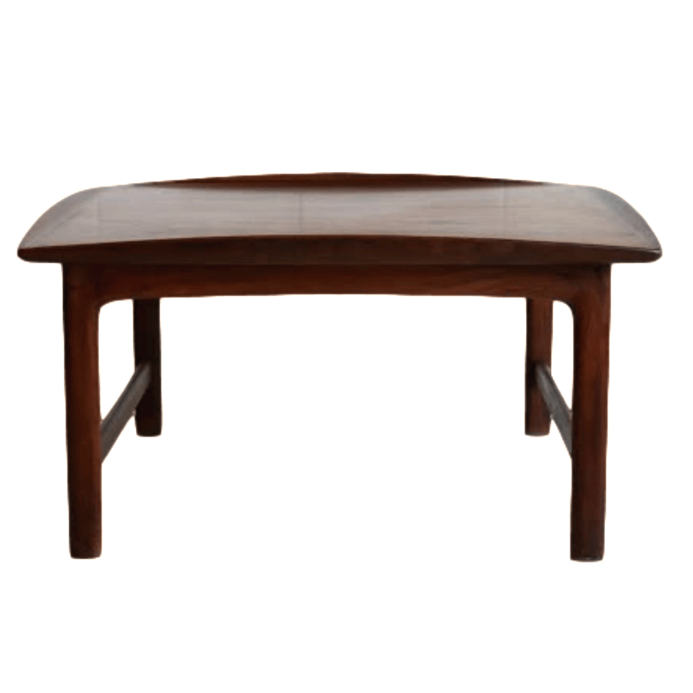 Scandinavian Teak Coffee Table: A Danish Mid Century Modern Teak Coffee Table