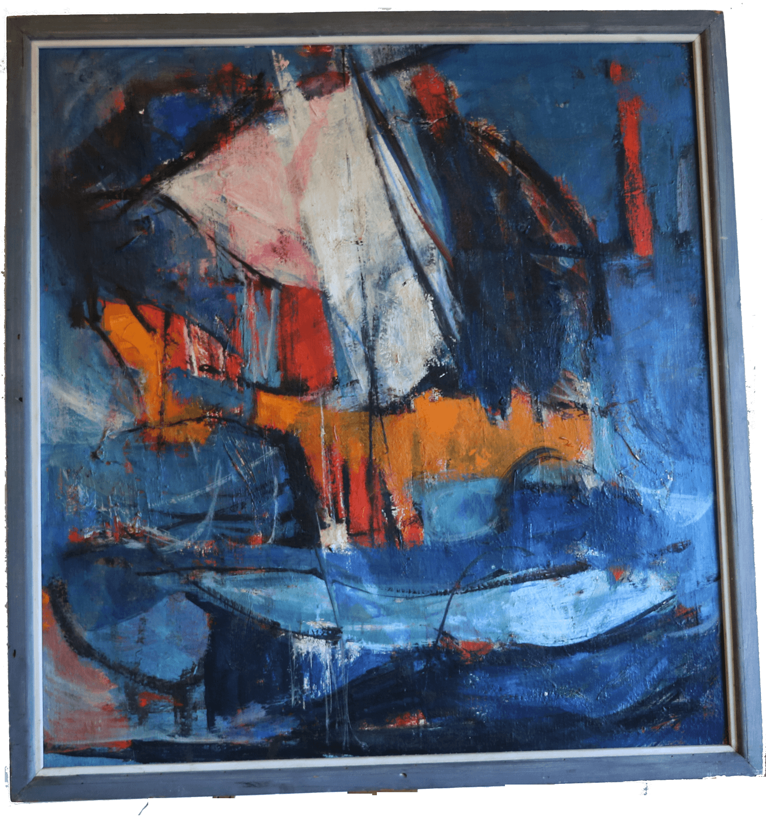 abstract oil painting contemporary