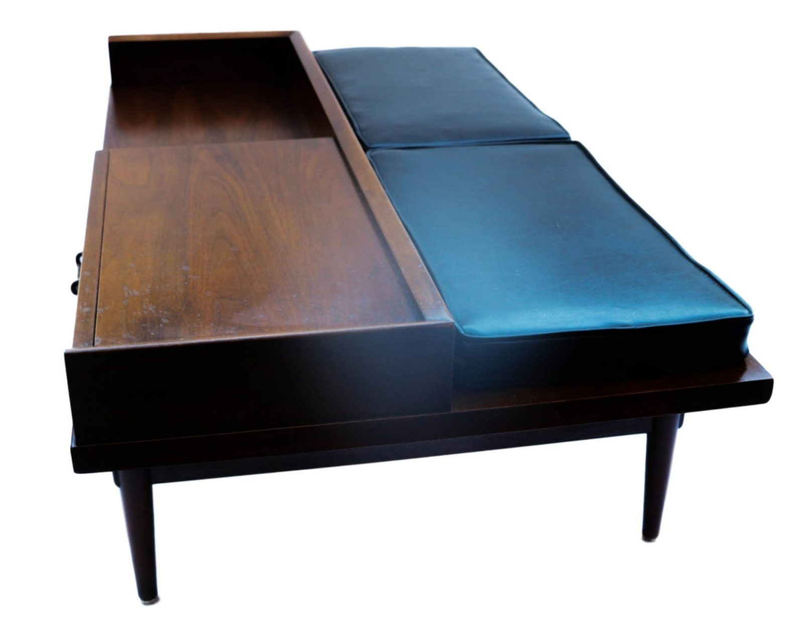 Mid Century Modern Coffee Table Bench American Of