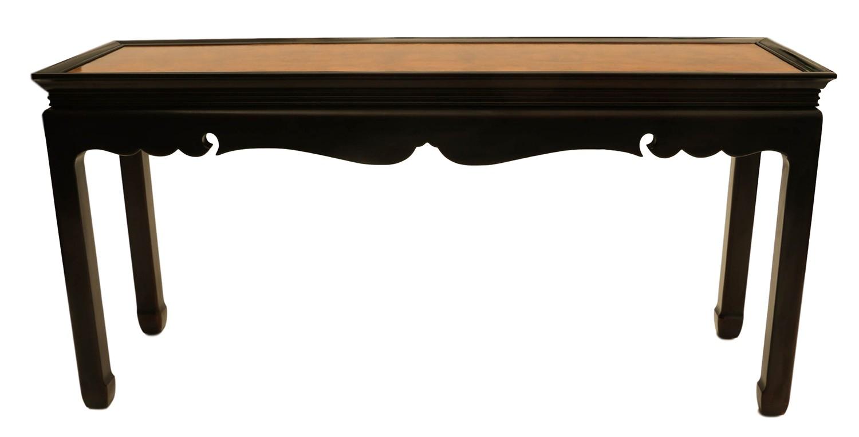 asian burlwood furniture