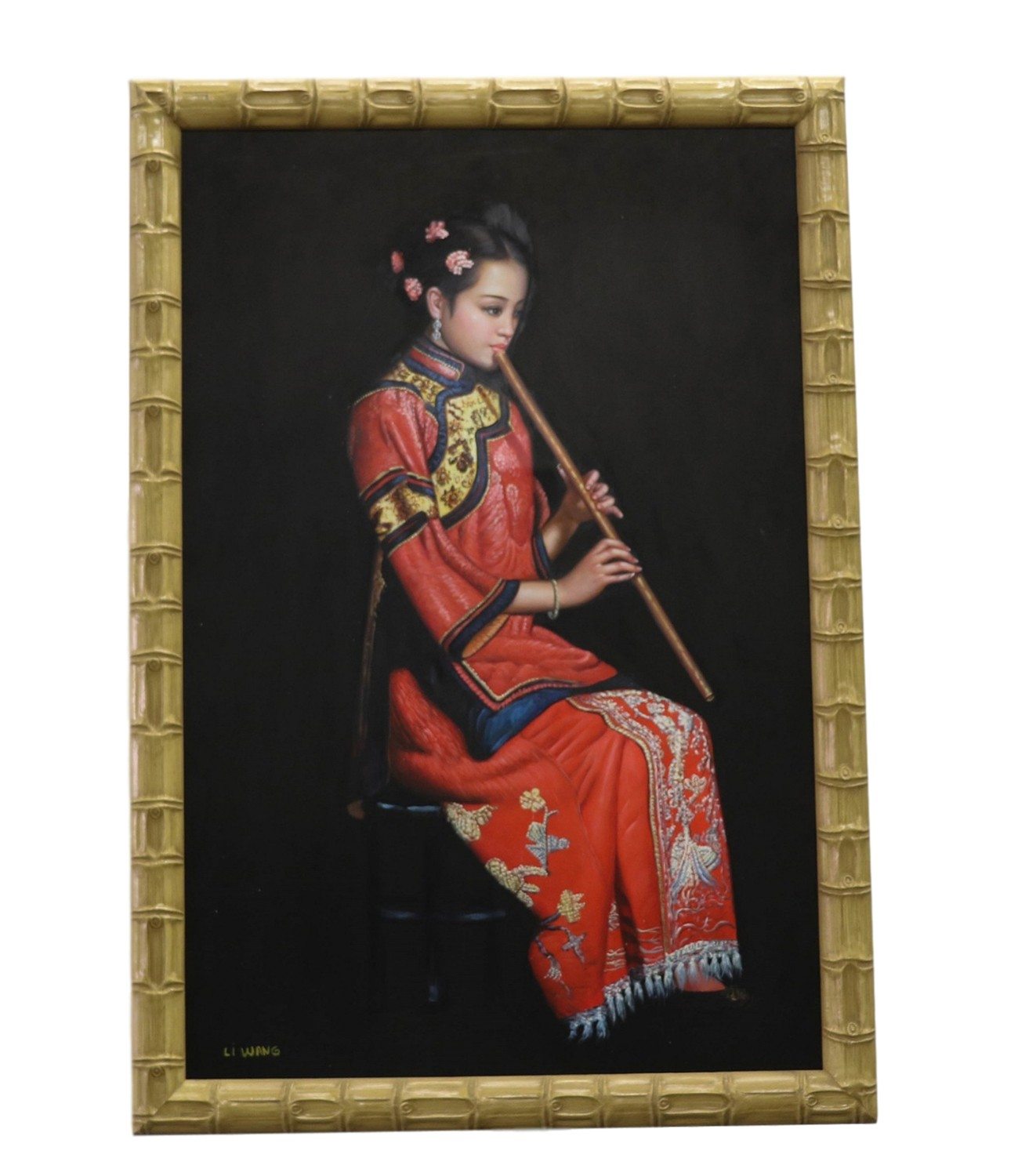 Think, asian canvas paintings