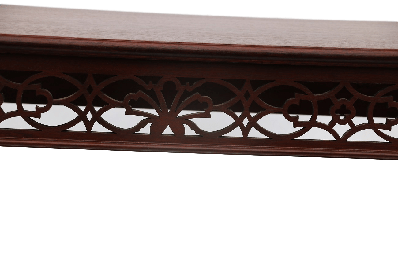 Chippendale fretwork console table by bartley chippendale fretwork console table by bartley geotapseo Gallery
