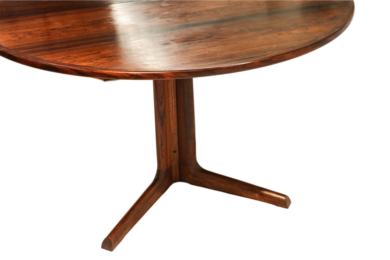 Danish Modern Rosewood Niels Moller Dining Table