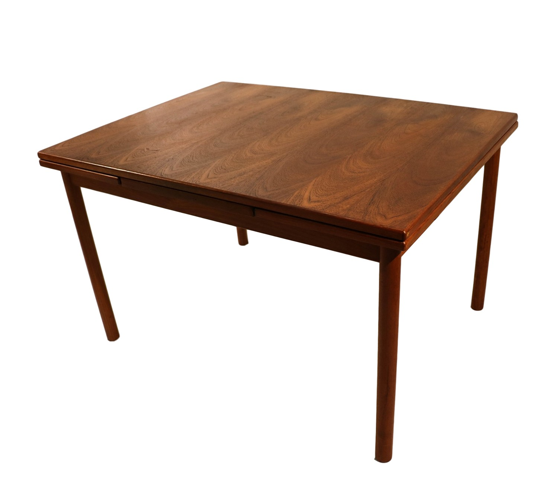 Teak Extendable Coffee Table: Danish Modern Teak Extendable Dining Table