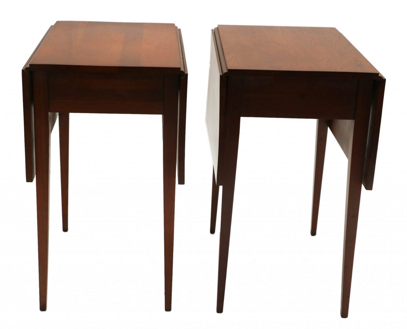 Henkel harris mahogany drop leaf pembroke side end table pair henkel harris mahogany drop leaf pembroke side end table pair dzzzfo