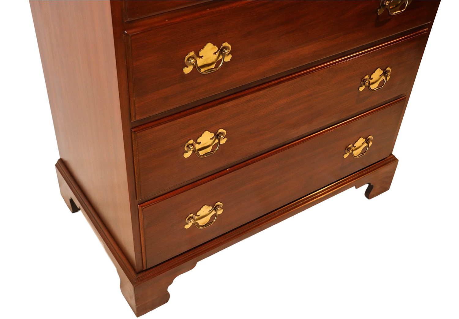Henkel harris tall chest cherry dresser