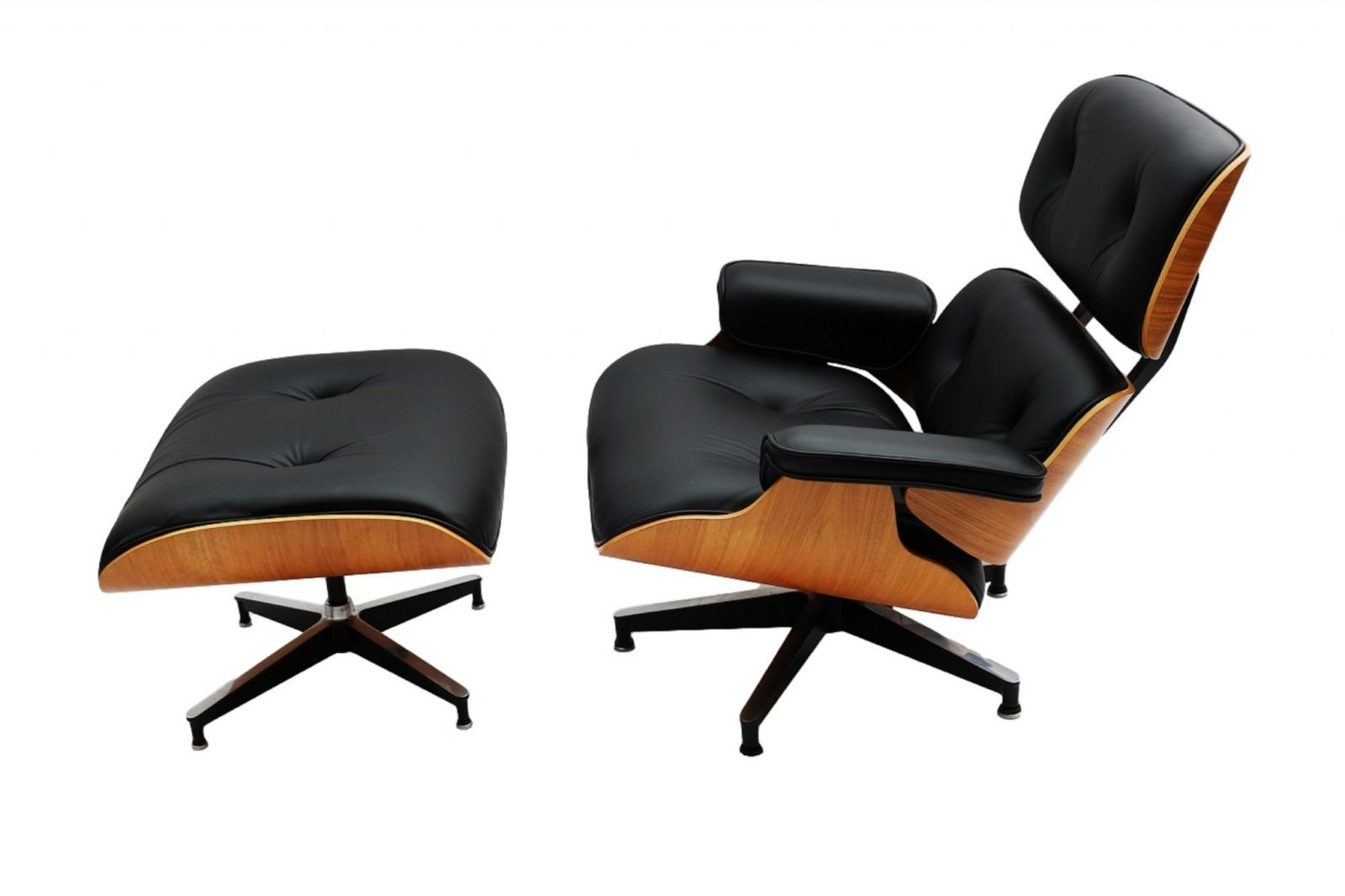 Herman Miller Eames Lounge Chair And Ottoman Model 670 671