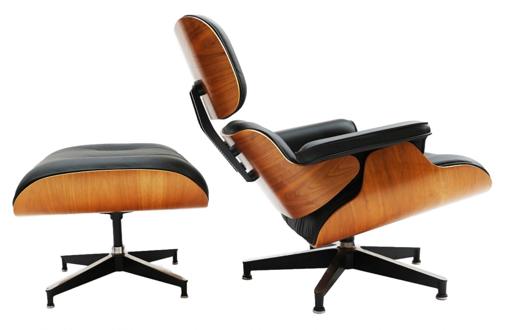 herman miller eames lounge chair and ottoman model 670 671. Black Bedroom Furniture Sets. Home Design Ideas