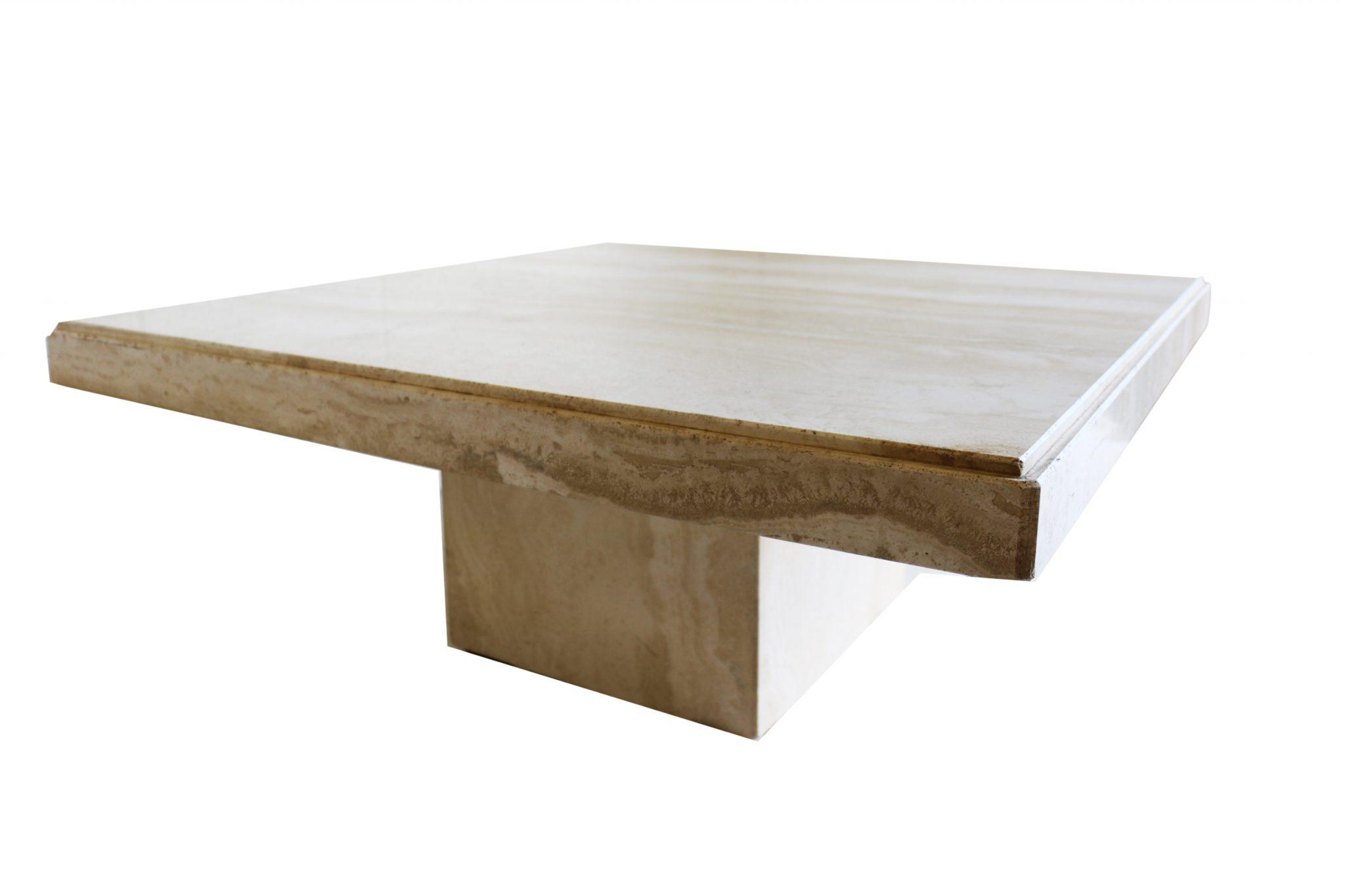 italian marble vintage coffee table. Black Bedroom Furniture Sets. Home Design Ideas