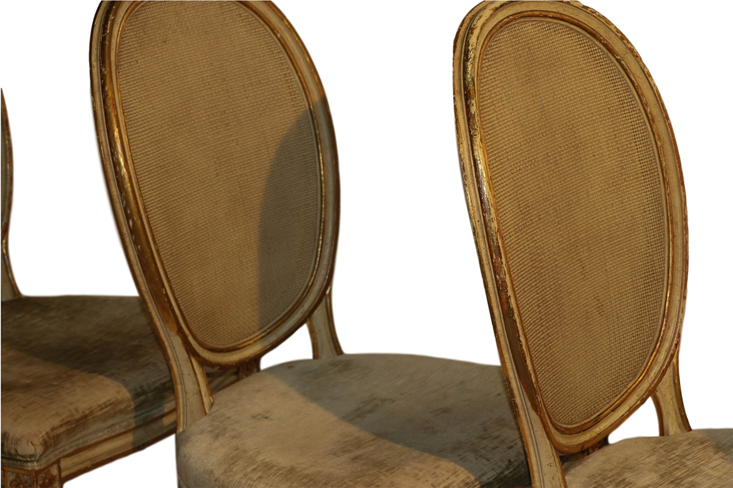 John Widdicomb French Provincial Louis XVI Style Dining Chairs -
