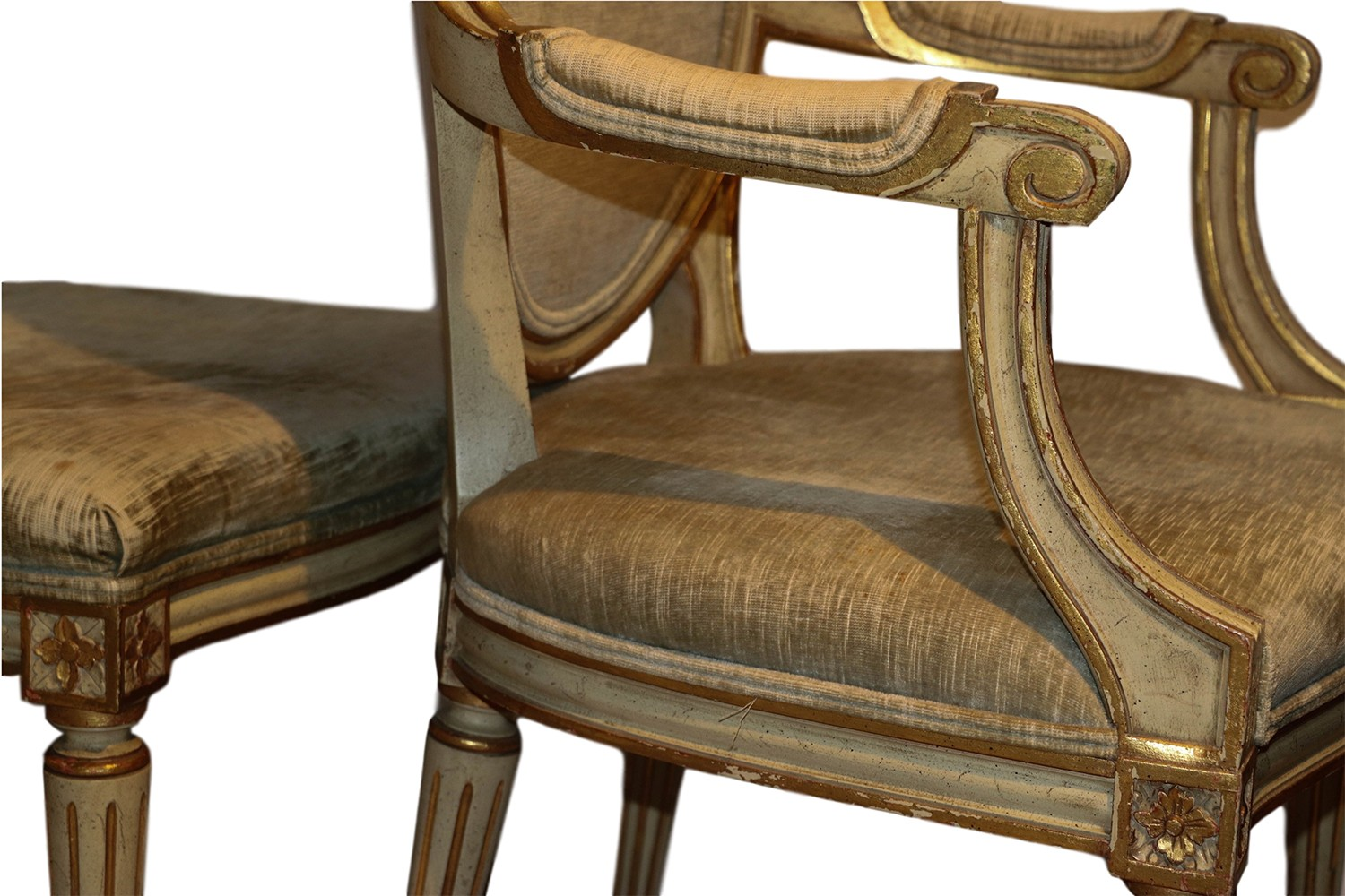 widdicomb provincial louis xvi style dining chairs