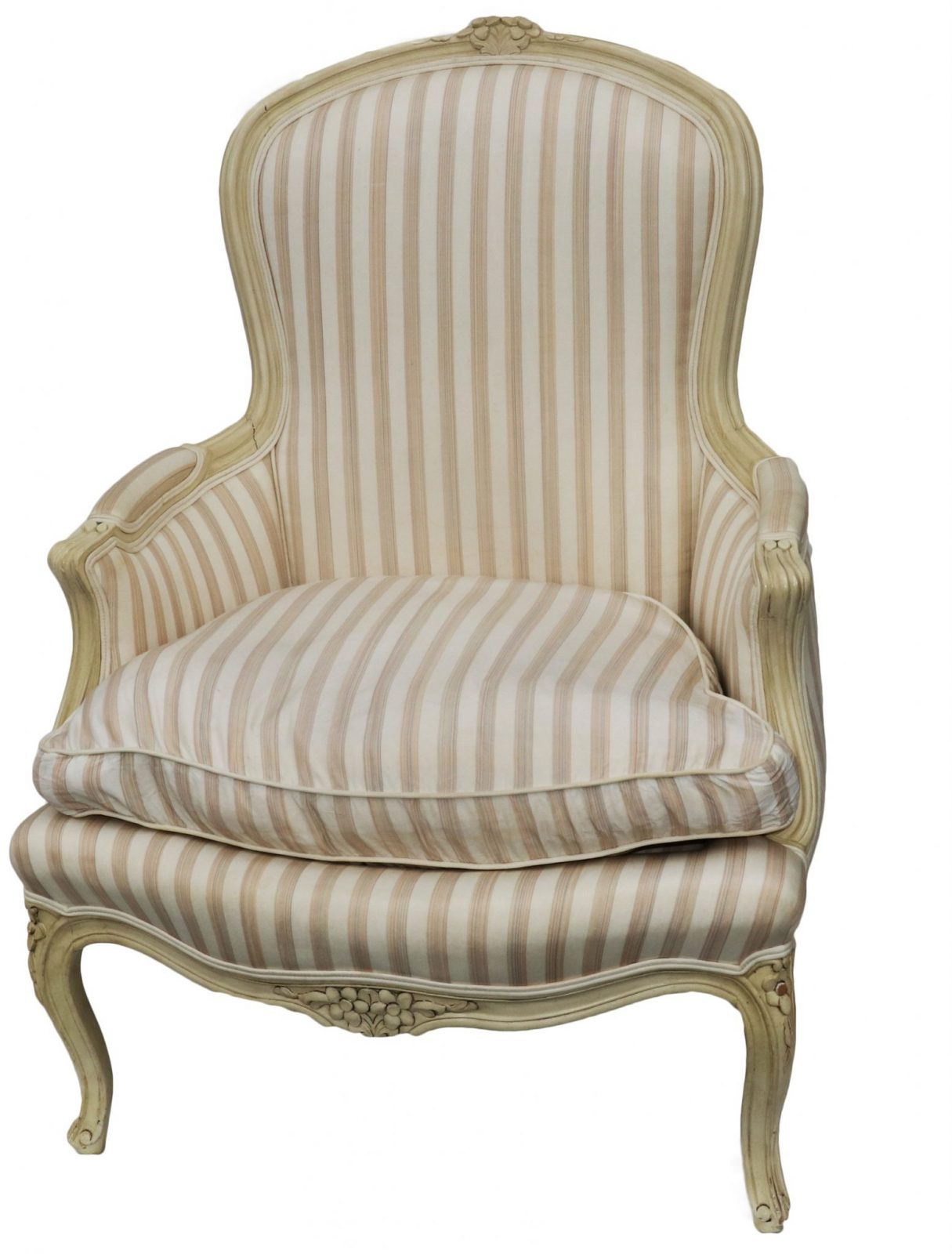 John Widdicomb French Style upholstered chair