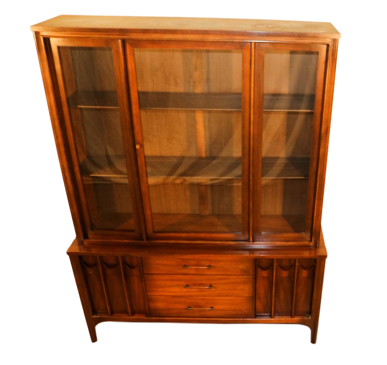 Picture of: Kent Coffey Perspecta Mid Century Modern Hutch China Cabinet