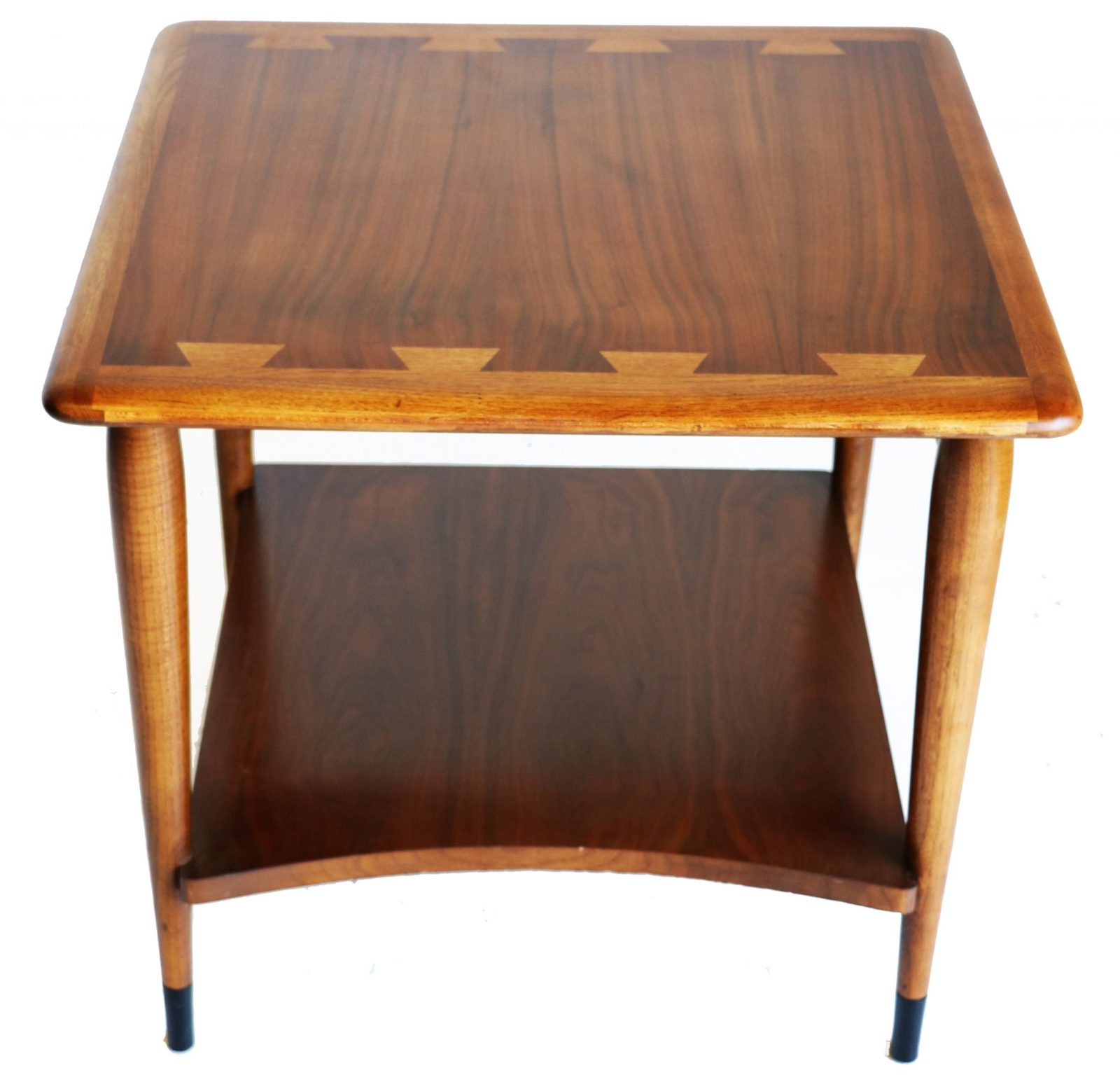 Lane Coffee Table With Drawers: Mid Century Modern Table By Lane