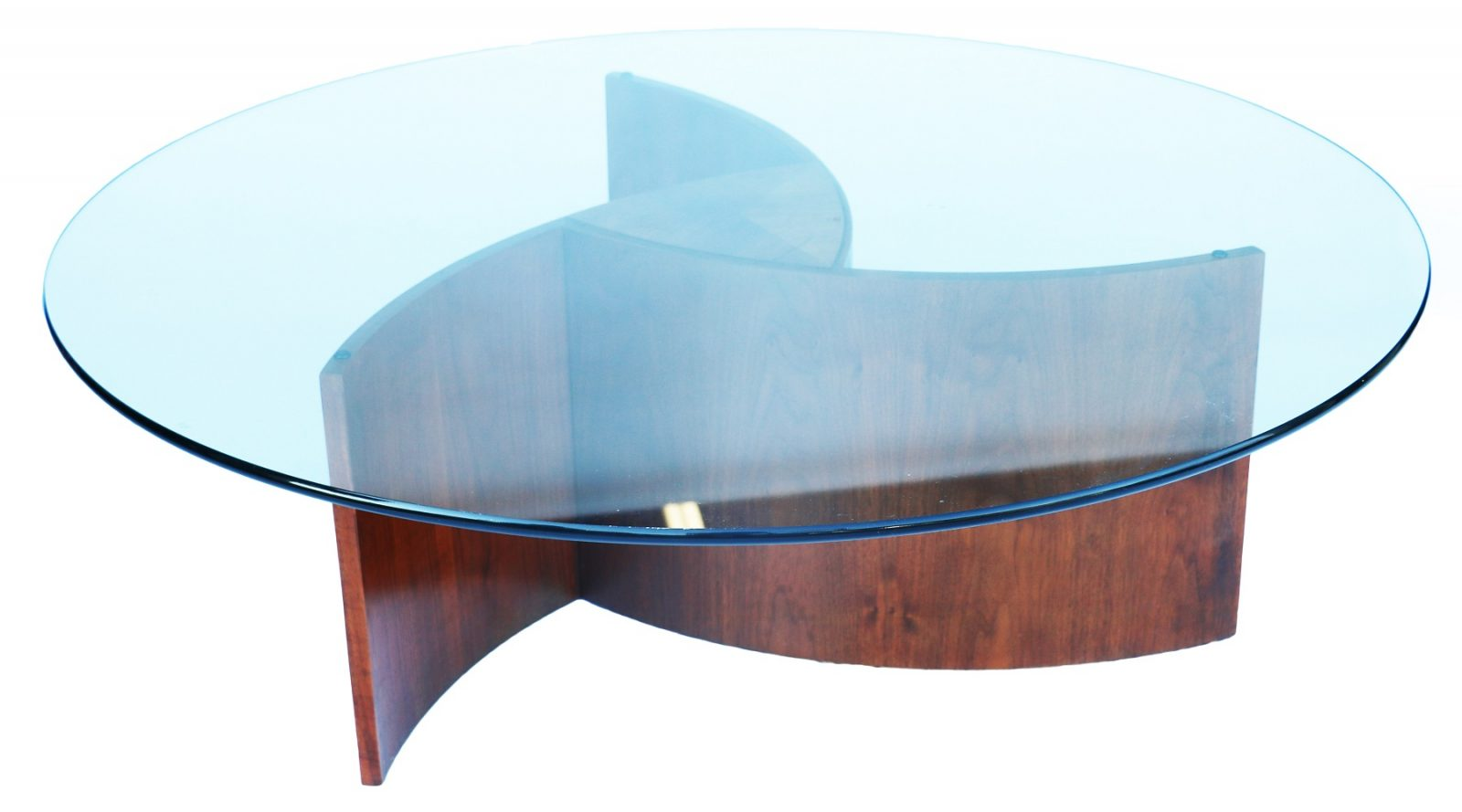 Mid Century Glass Coffee Table Top