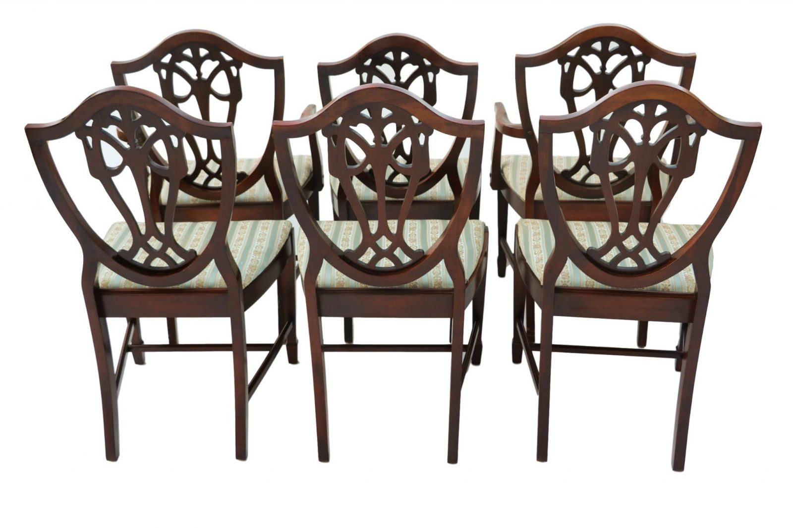 100 Shield Back Dining Room Chairs Set Of 8  : Mahogany George III Style Hepplewhite Shield Back Dining Chairs Six 6 from ll100proof.com size 2048 x 1365 jpeg 208kB