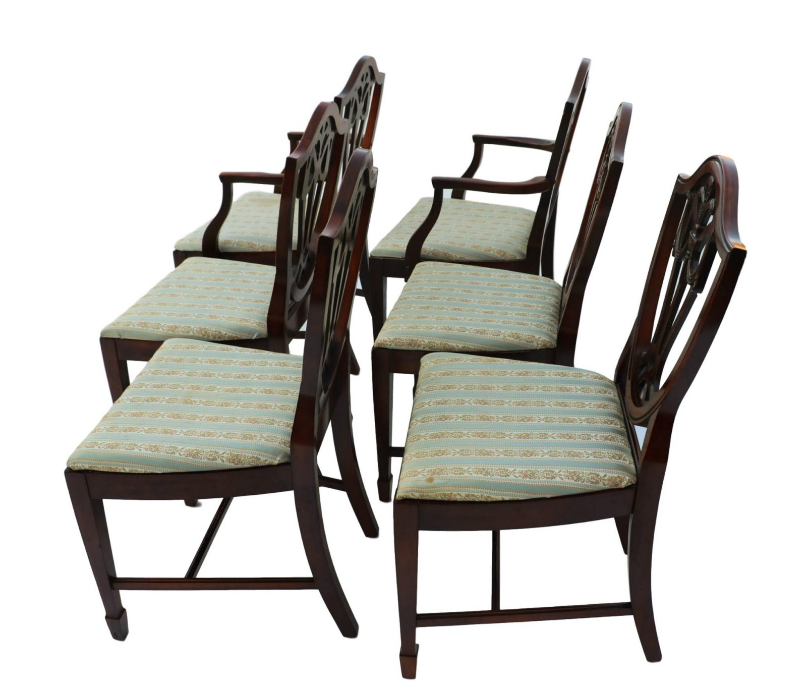 100 Shield Back Dining Room Chairs 8537 Antique  : Mahogany George III Style Hepplewhite Shield Back Dining Chairs Six 7 from 45.63.76.191 size 2048 x 1759 jpeg 248kB