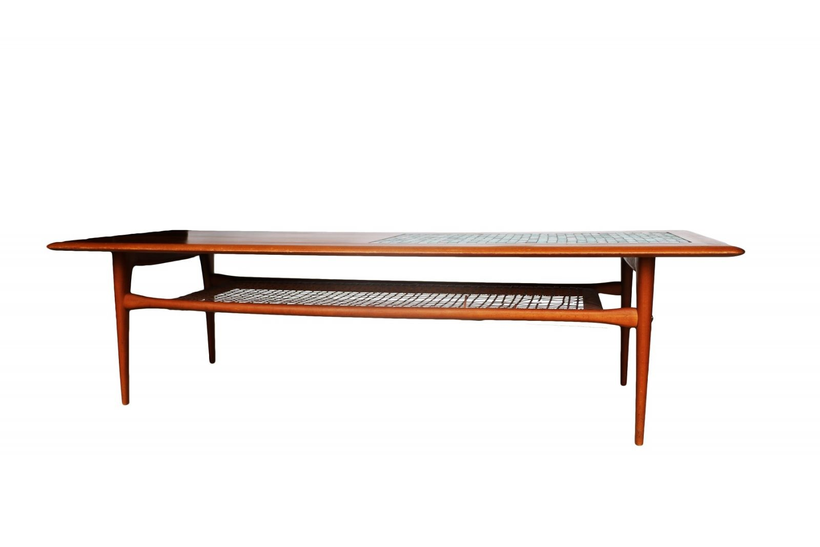 Mid Century Danish Coffee Table Two Tier