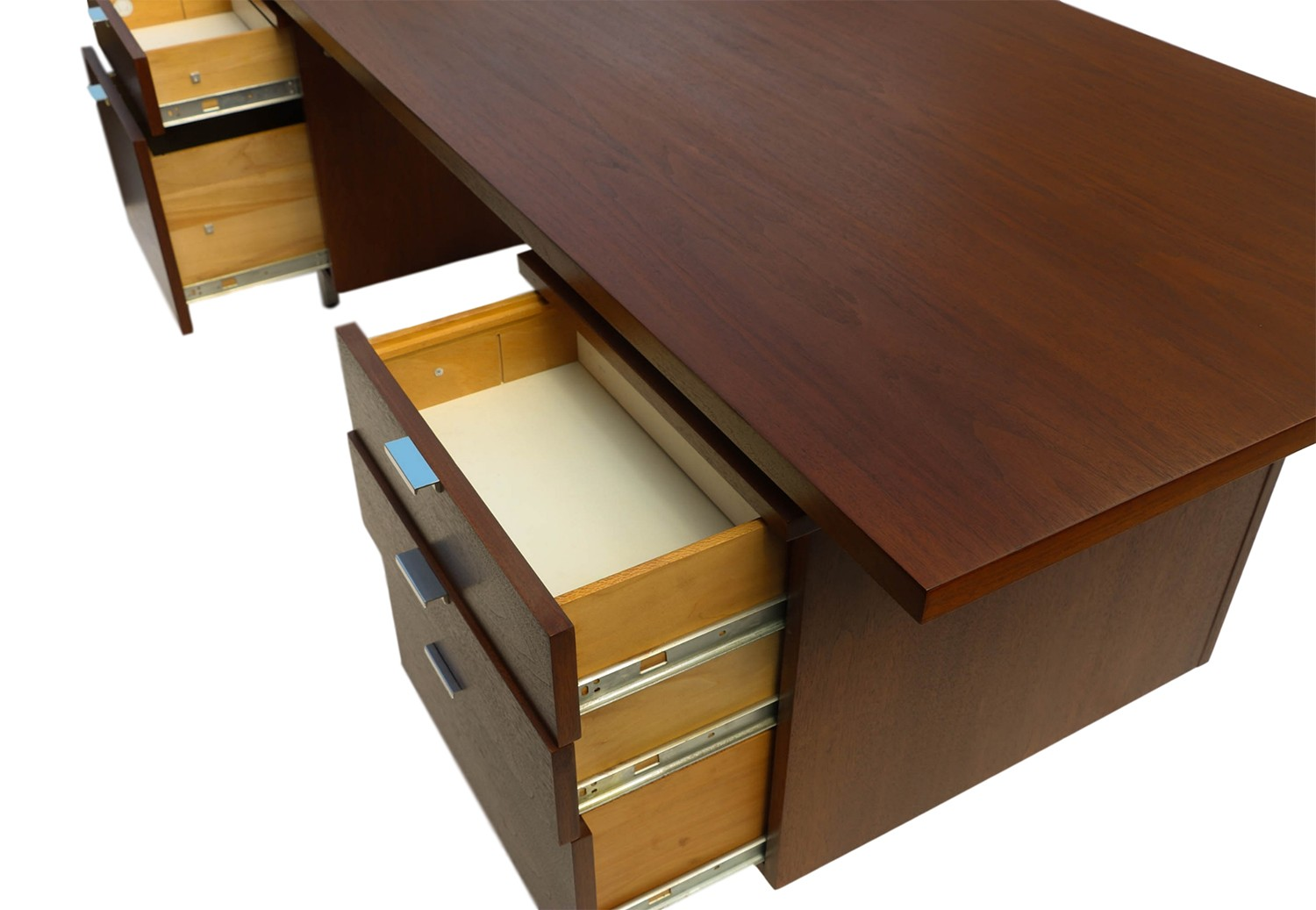 Mid Century Modern Executive Desk George Nelson Herman