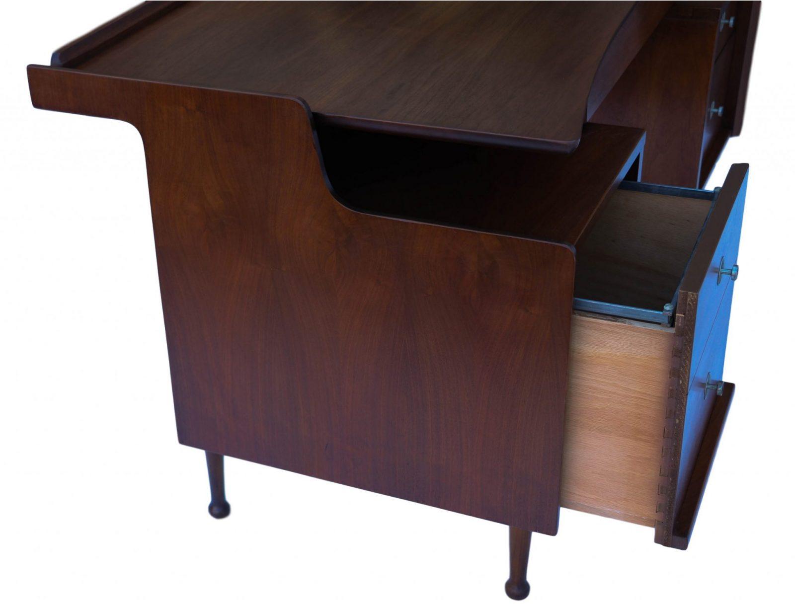 Mid Century Mainline hooker floating desk 8