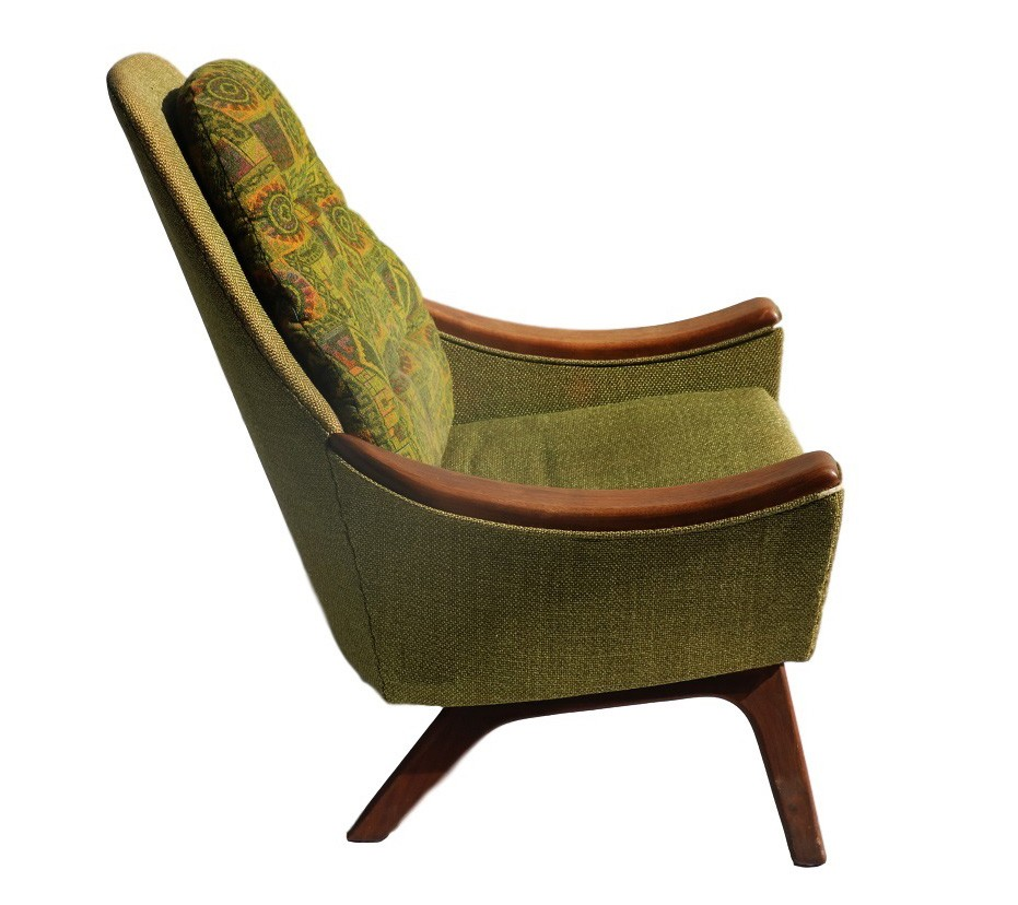 Mid century modern adrian pearsall style arm chair for Modern arm chair