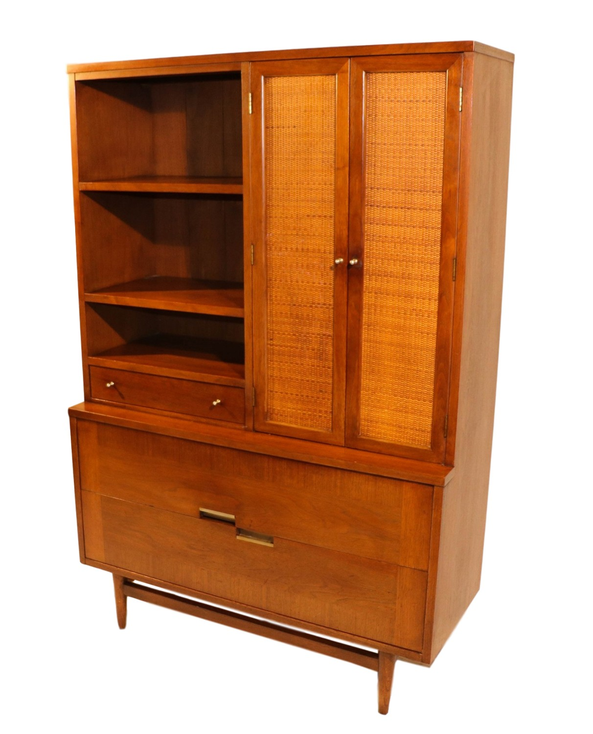 Mid Century Modern Split Level 1956 Edition Better Homes: Mid Century Modern American Of Martinsville China Cabinet