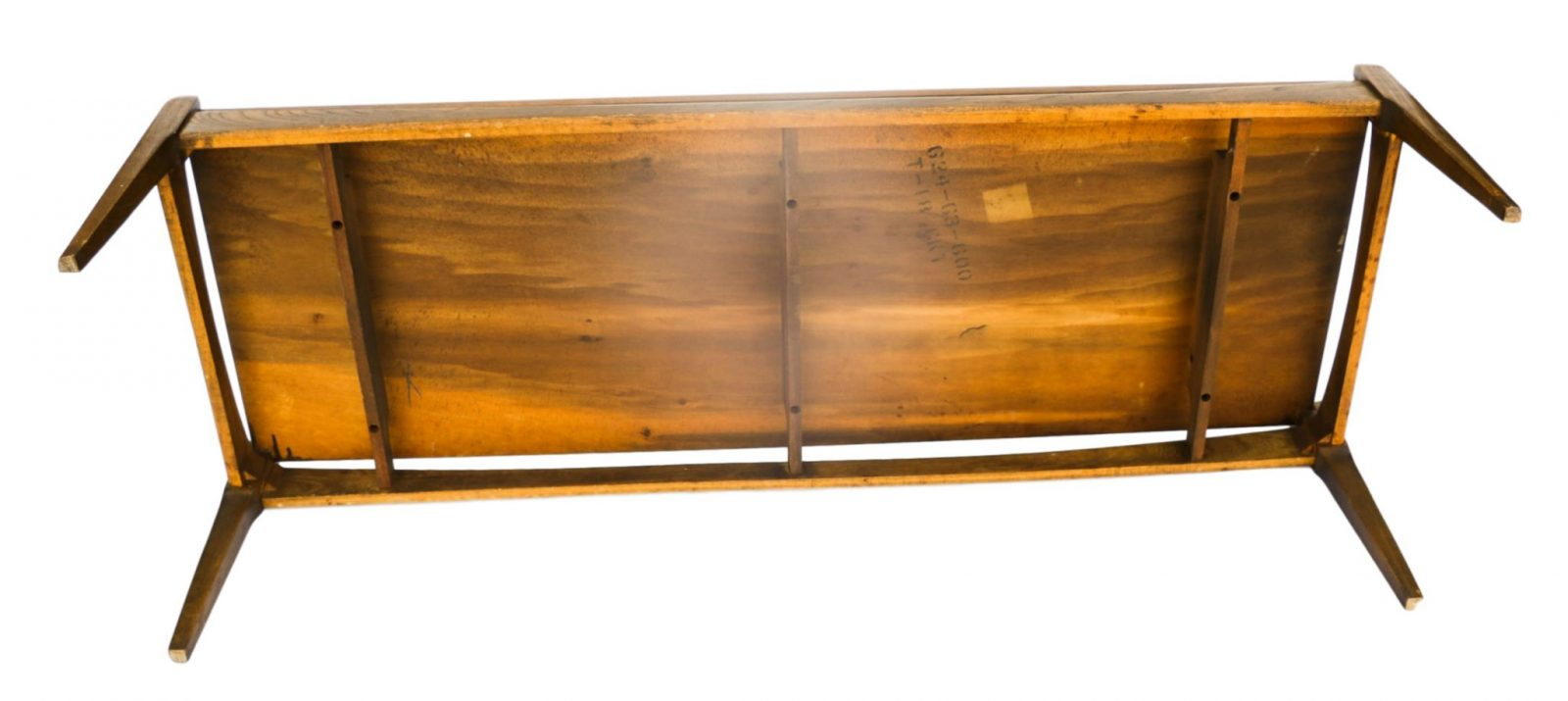 Mid Century Modern Bassett Walnut Coffee Table