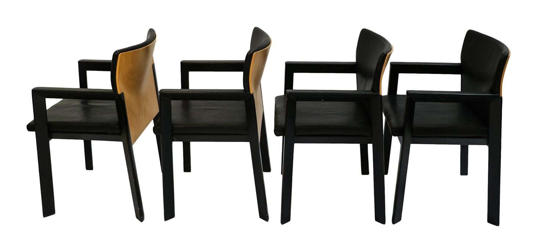 Mid century modern hartmut lohmeyer wilkhahn armchairs for Mid century modern armchairs