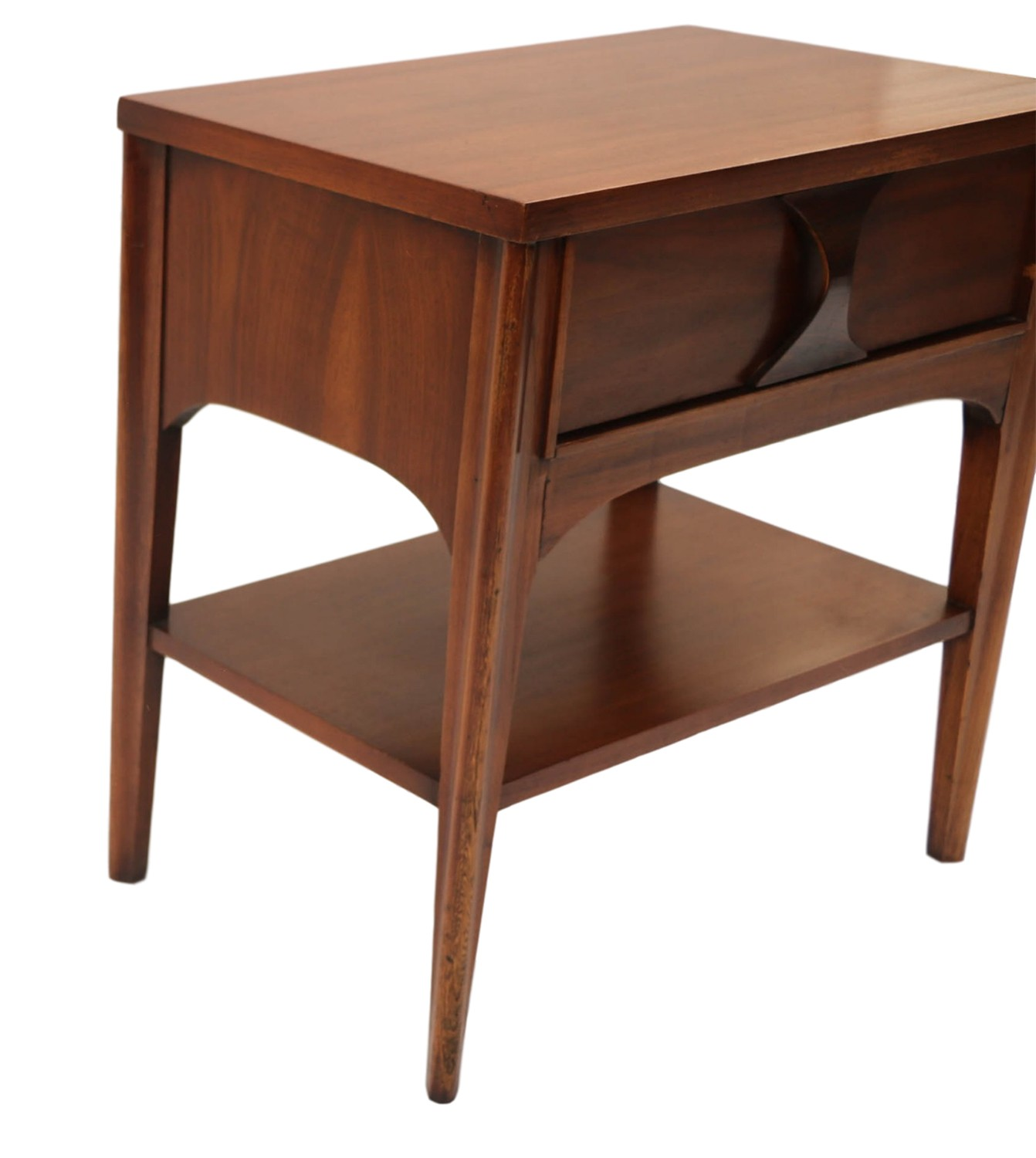 mid century modern kent coffey side table nightstand. Black Bedroom Furniture Sets. Home Design Ideas