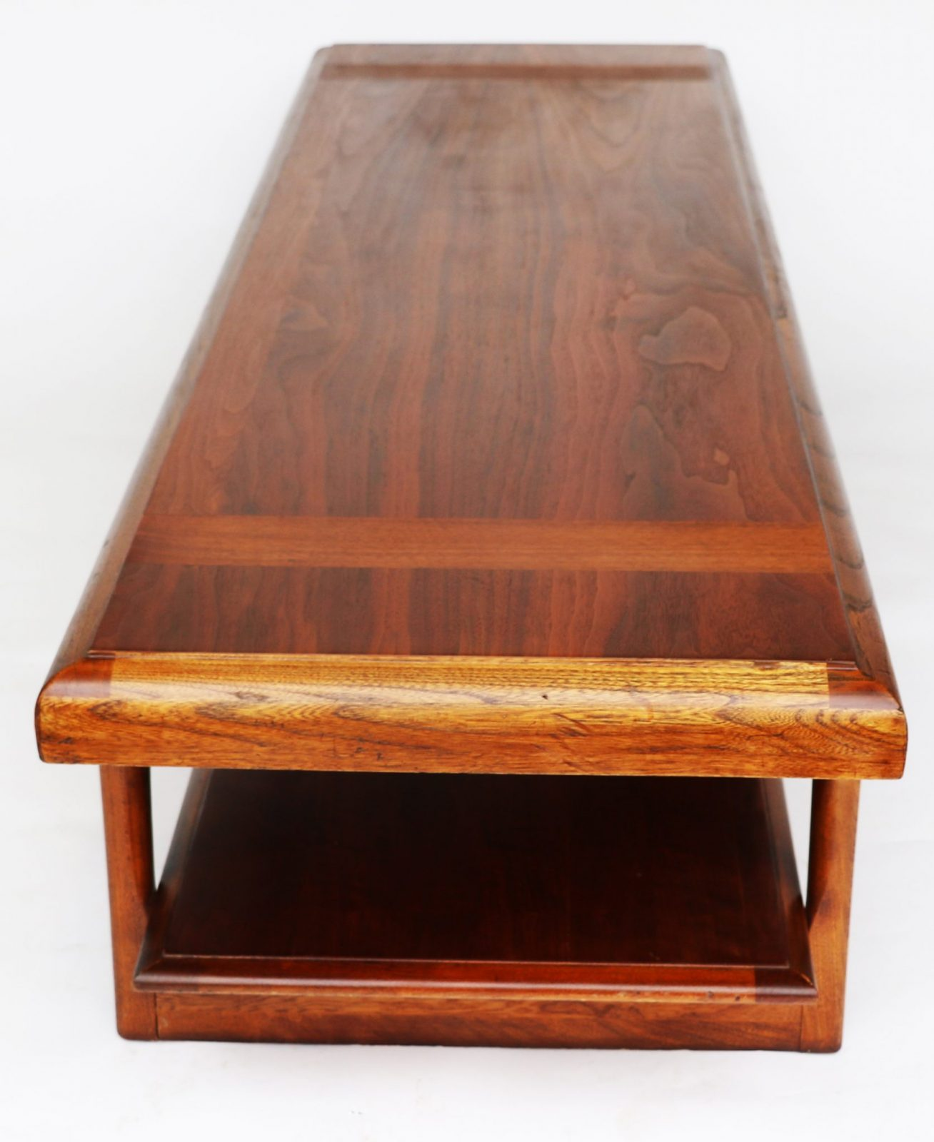 Mid Century Modern Lane Two-Tier Coffee Table