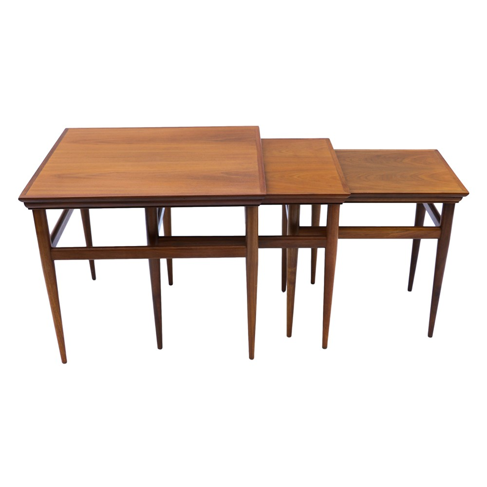 Mid Century Modern Split Level 1956 Edition Better Homes: Mid Century Modern Nesting Tables By Heritage