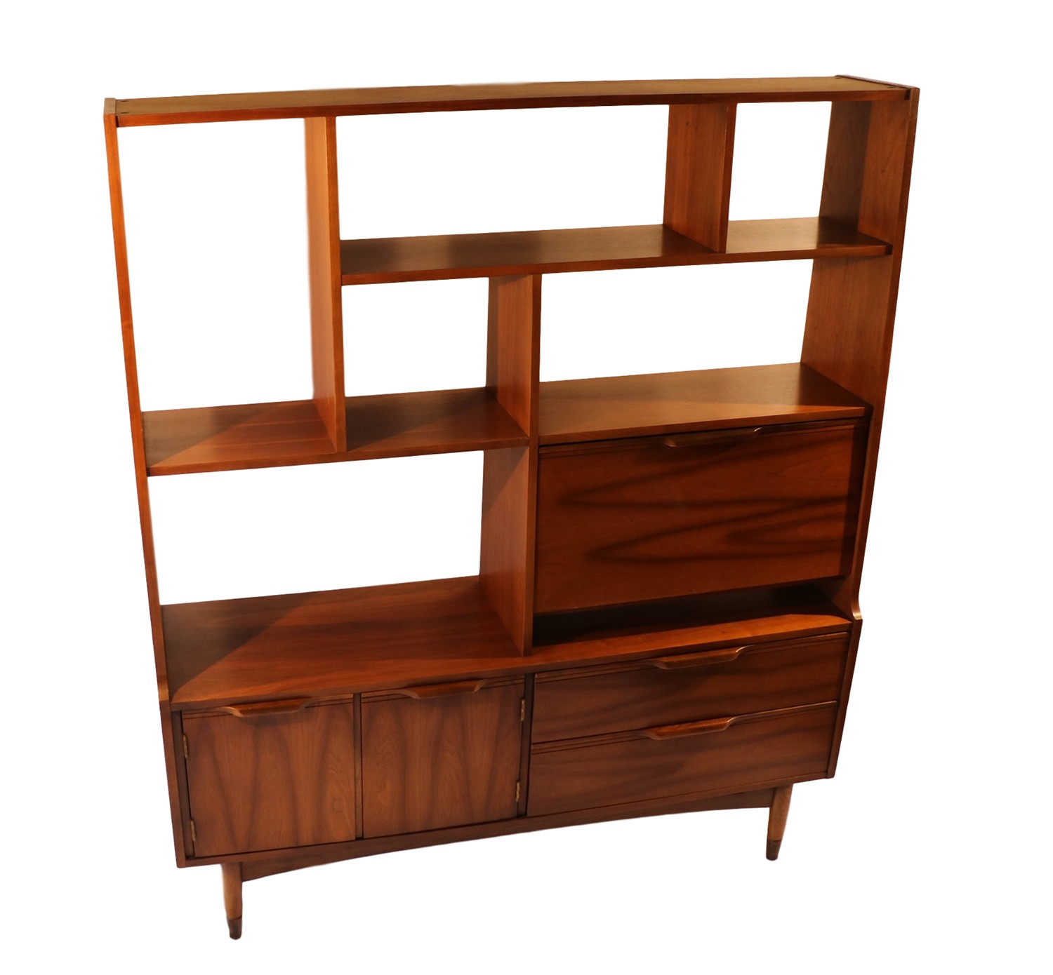 Mid Century Modern Split Level 1956 Edition Better Homes: Mid Century Modern Room Divider Bookcase Hutch