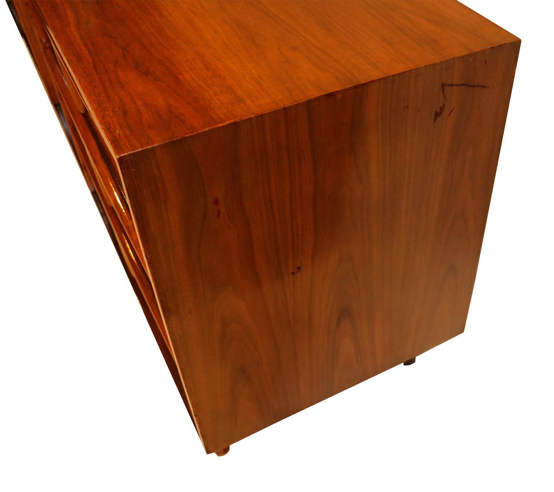 mid century modern sculpted dresser sideboard. Black Bedroom Furniture Sets. Home Design Ideas