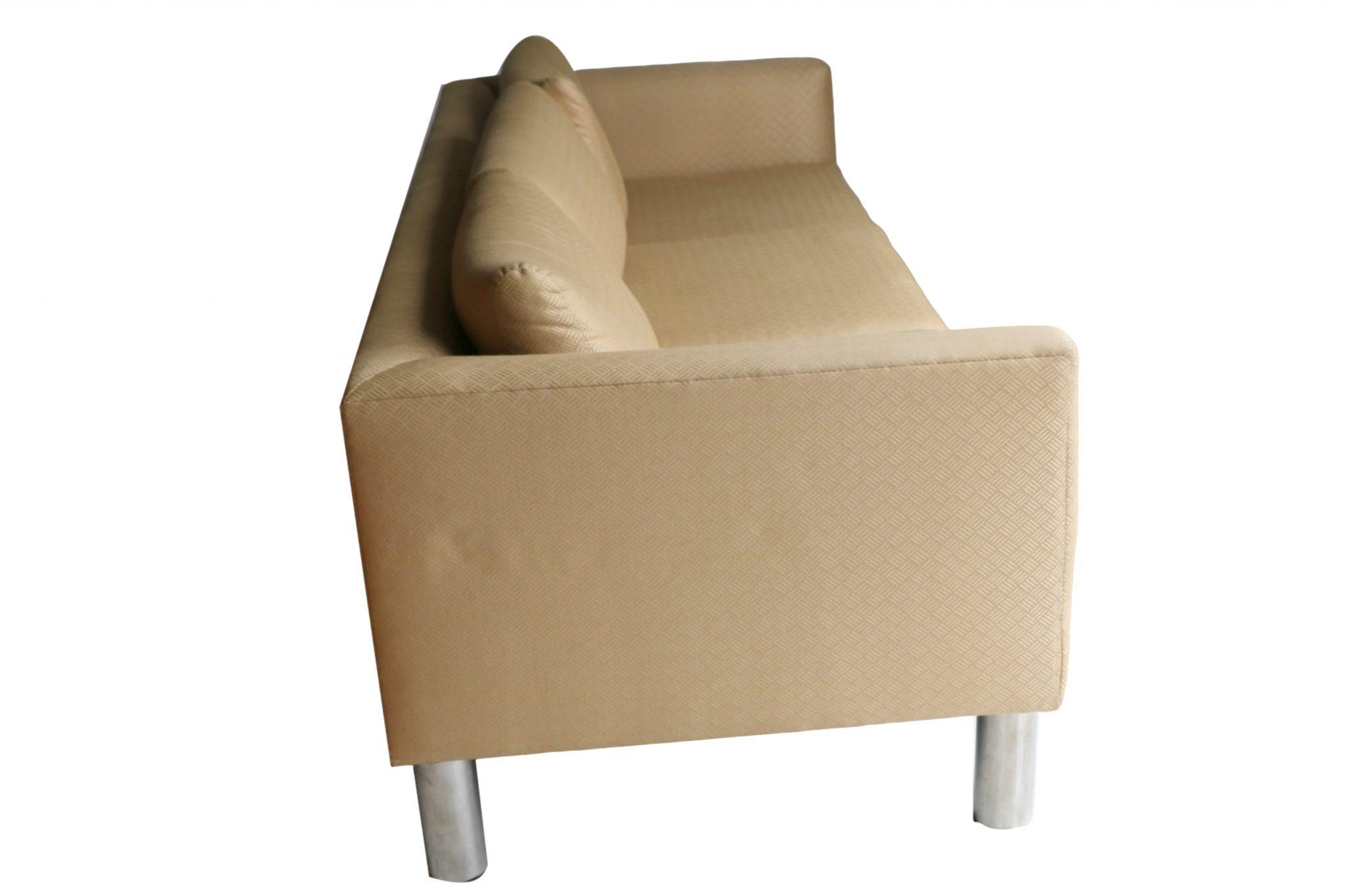 A Mid Century Modern Chrome Leg Sofa