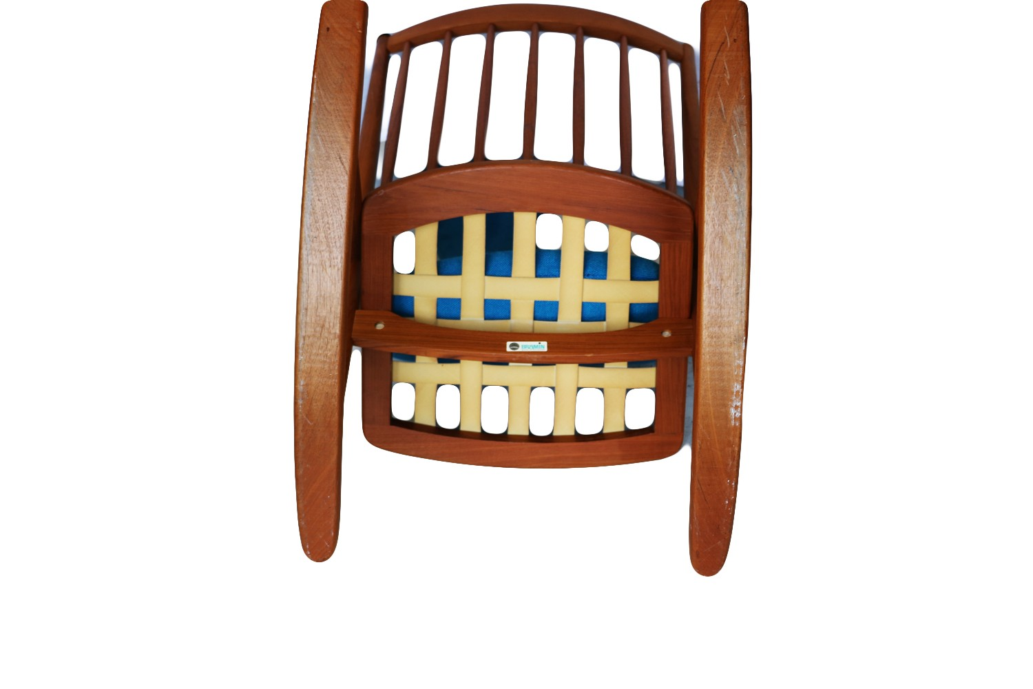 Picture of: Teak Rocking Chair By Frank Reenskaug