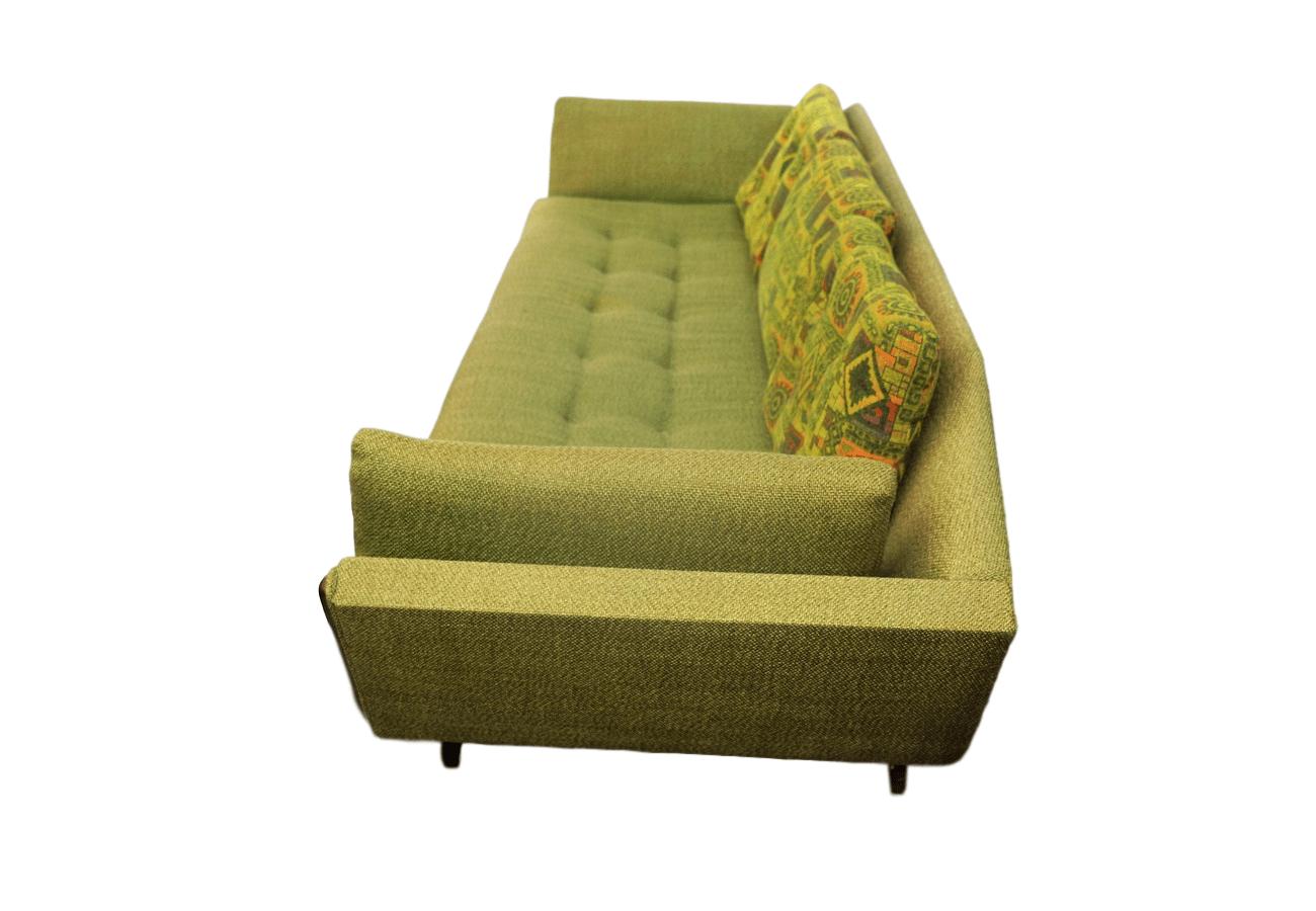 Mid Century Danish Modern Adrian Pearsall Gondola Sofa