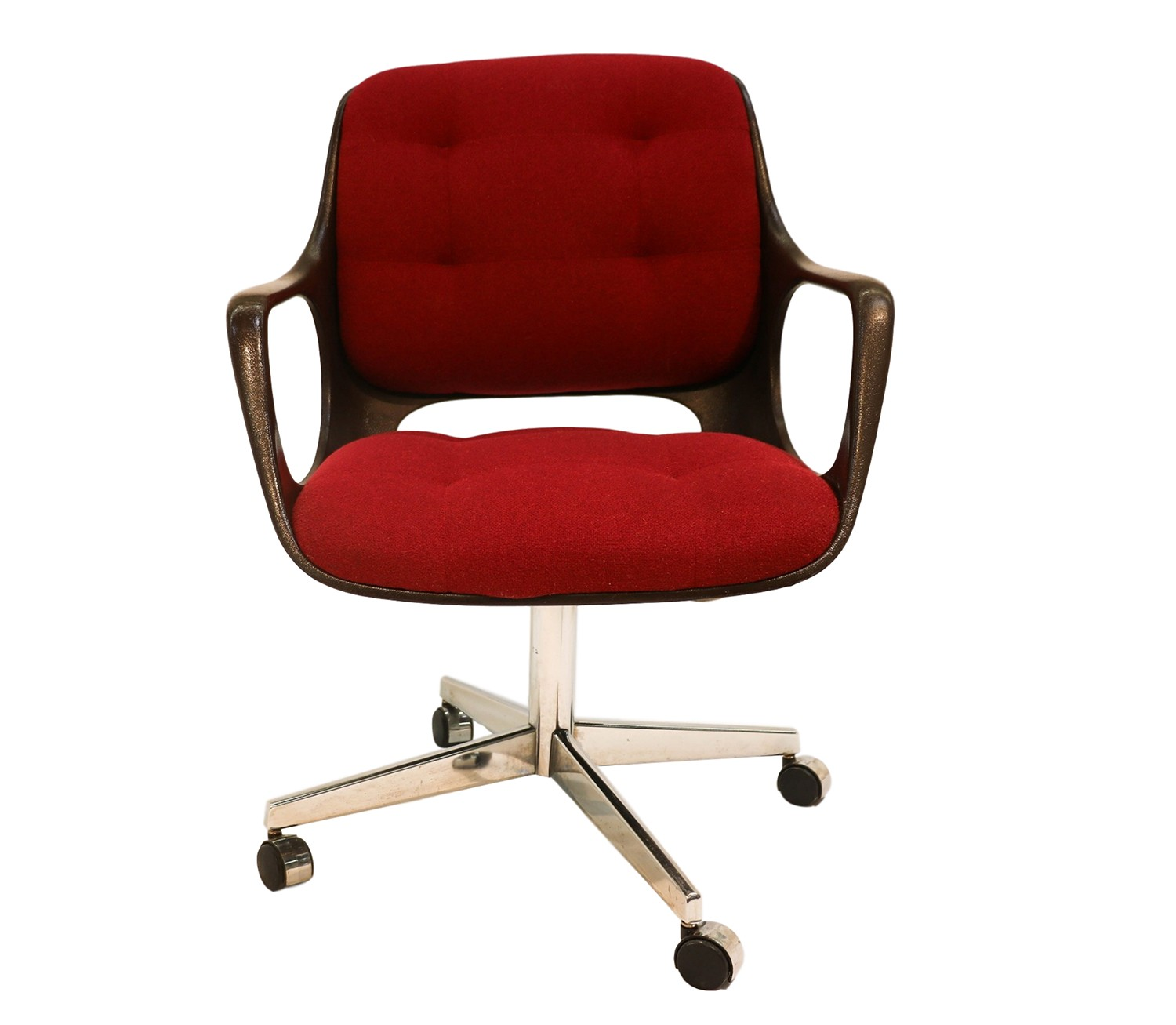 Mid century modern office chair hermann miller style for Contemporary office chairs modern