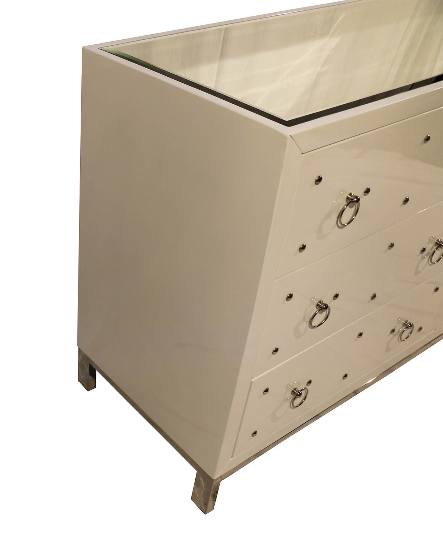 Modern white dresser buffet sideboard for White modern buffet table