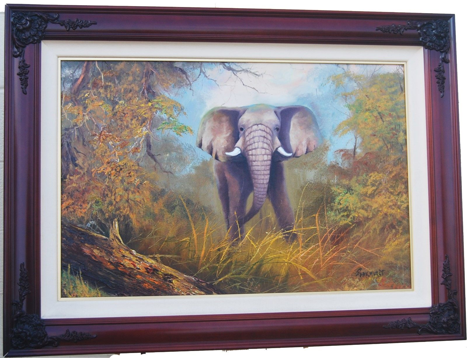 Original Oil Painting By Violet Parkhurst