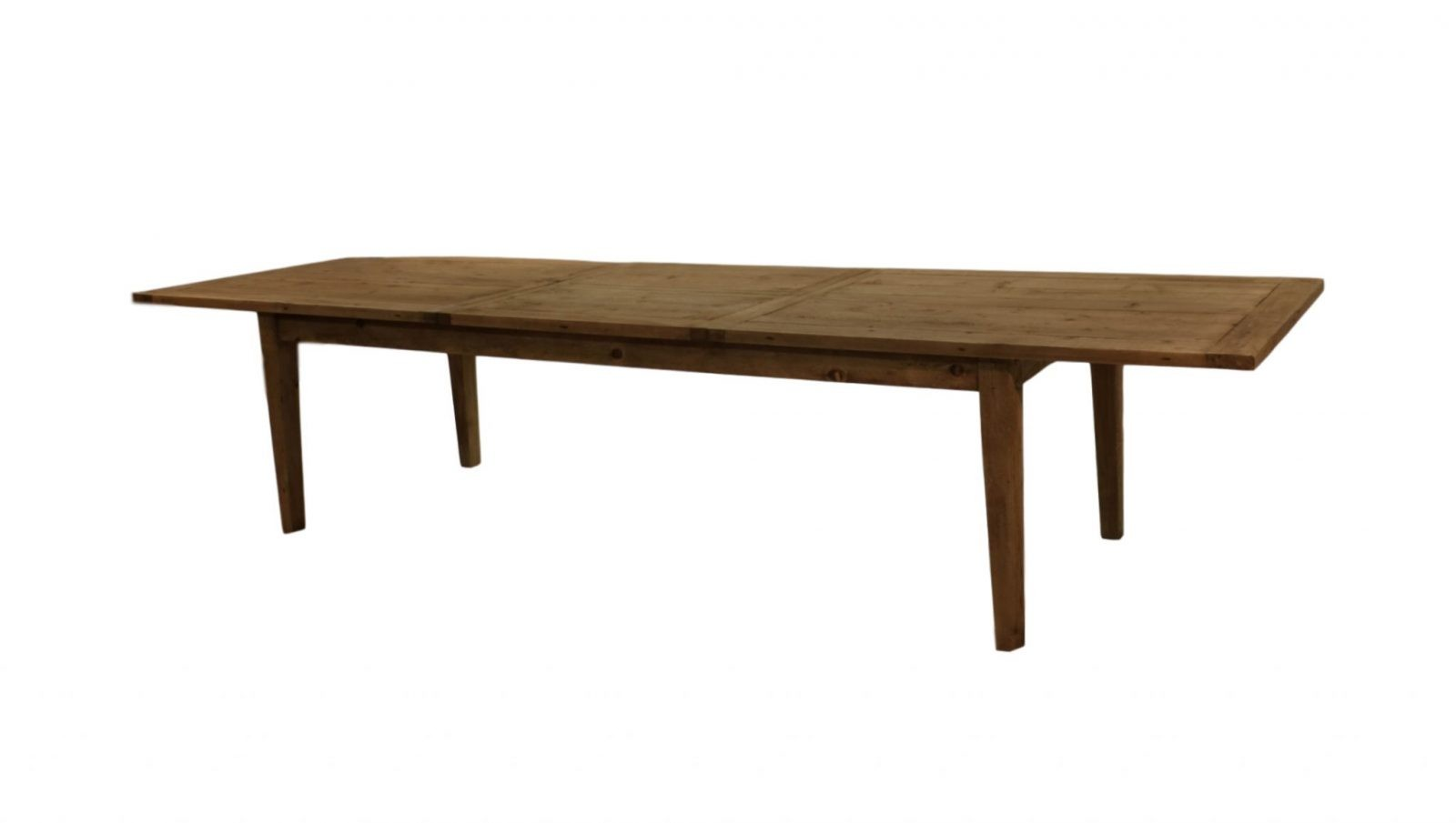 Old Wood Dining Table ~ Parsons rectangular reclaimed old wood dining table