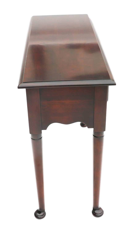 Statton Solid Cherry Console Sofa Table