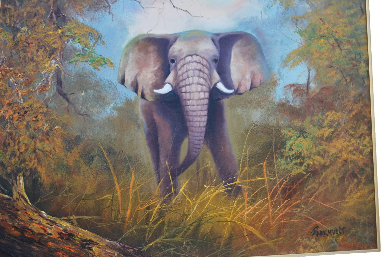 Original Oil Painting By Violet Parkhurst