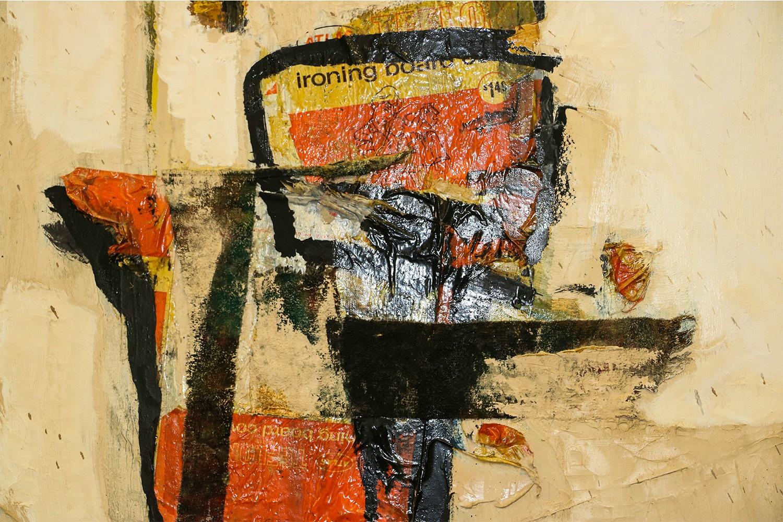 Abstract Art Original Painting Impressionism Mixed Media