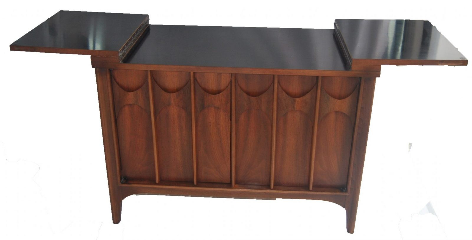 A Quot Brasilia Quot Flip Top Bar Sideboard By Broyhill