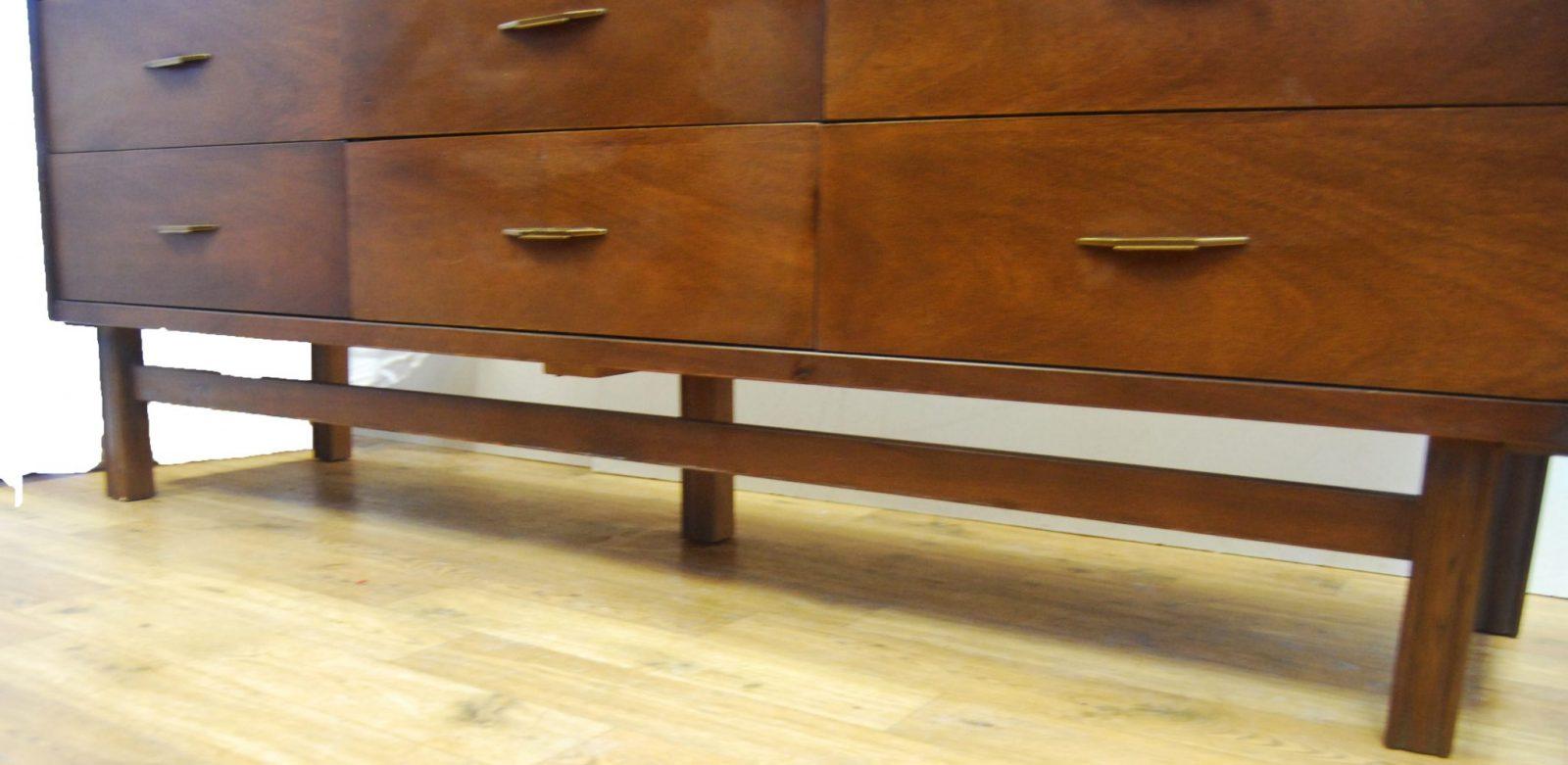 Mid Century Credenza Dresser By Basset Furniture