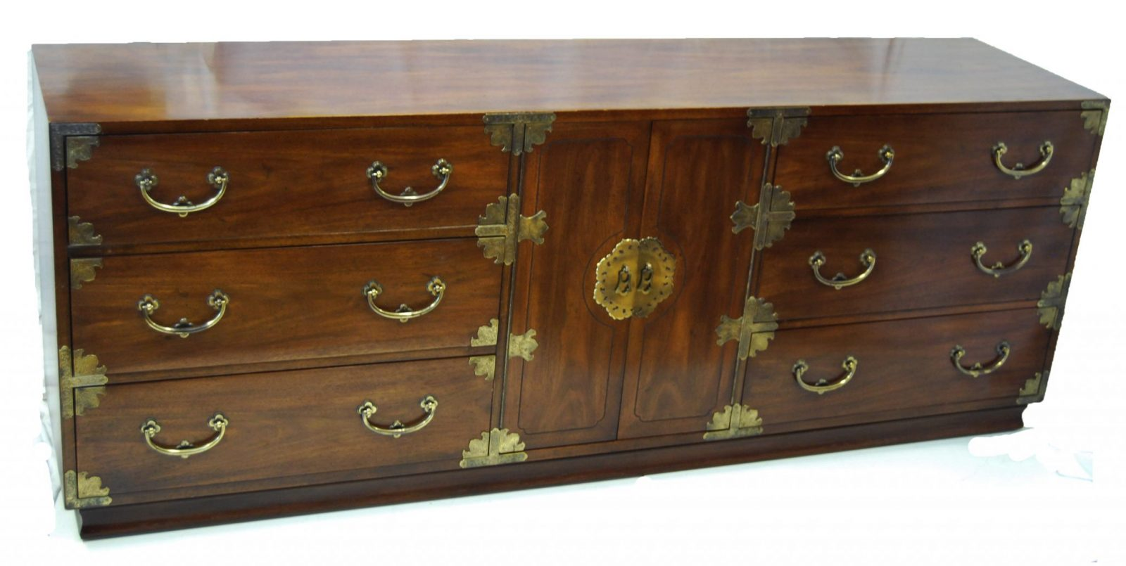 High Quality Dining Room Tables Asian Inspired Campaign Long Chest Of Drawers By Henredon