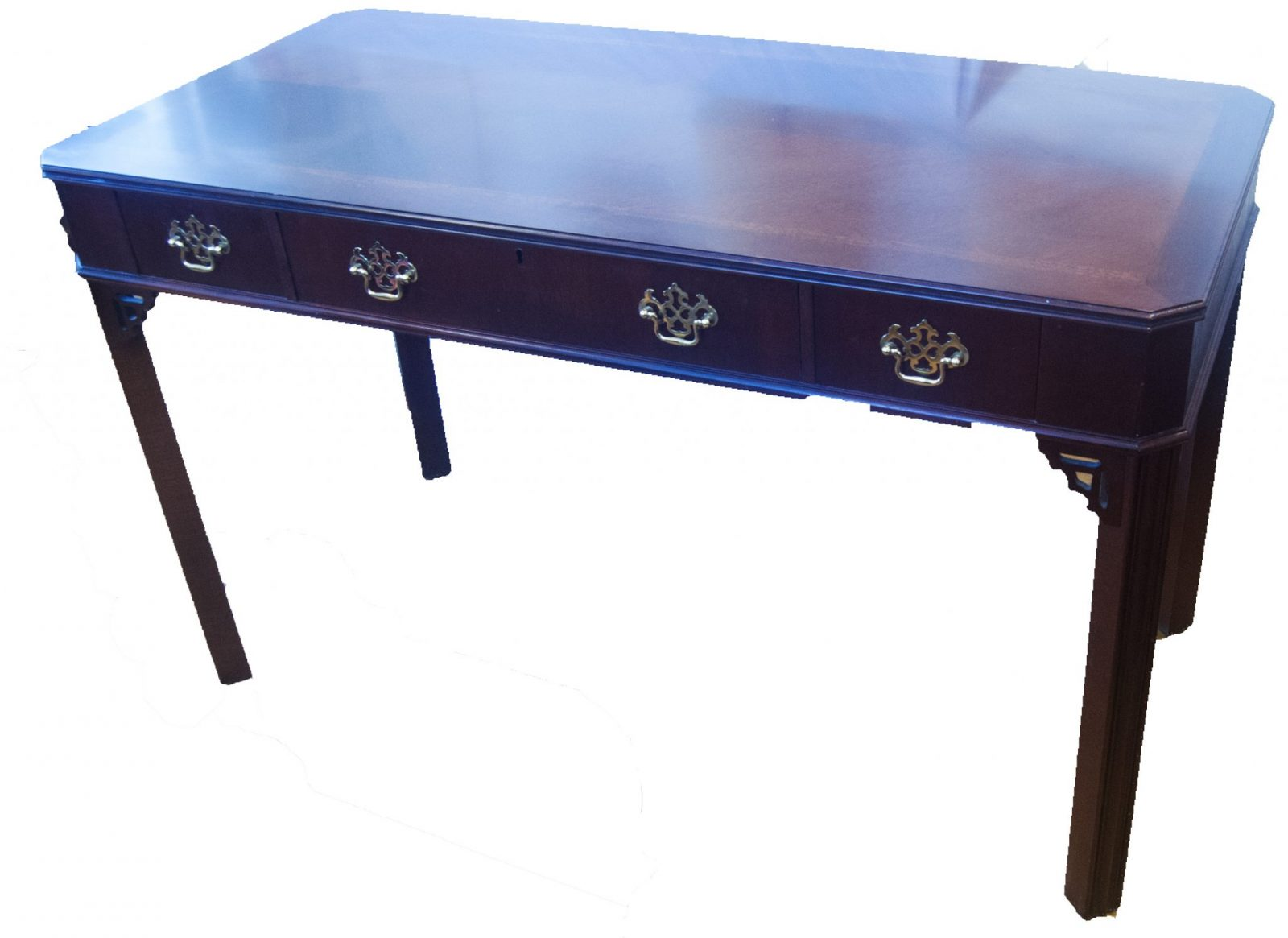 Chippendale Style Desk Table By Lane Furniture Company