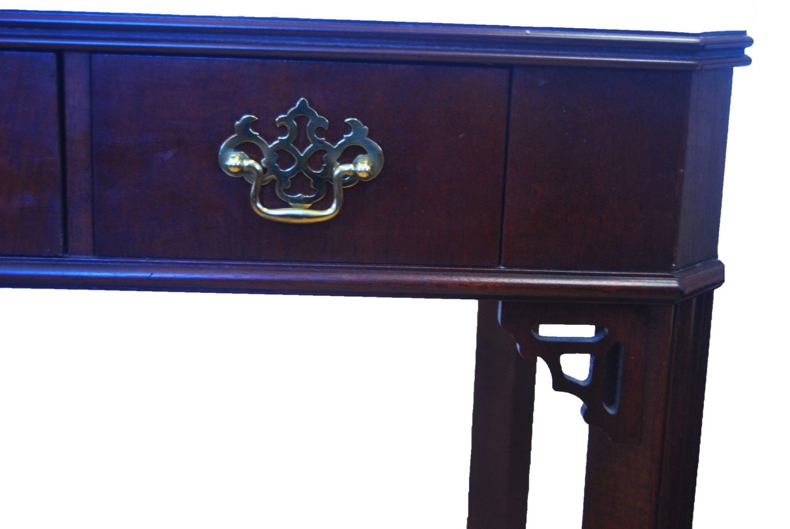 Chippendale Style Desk/table By Lane Furniture Company