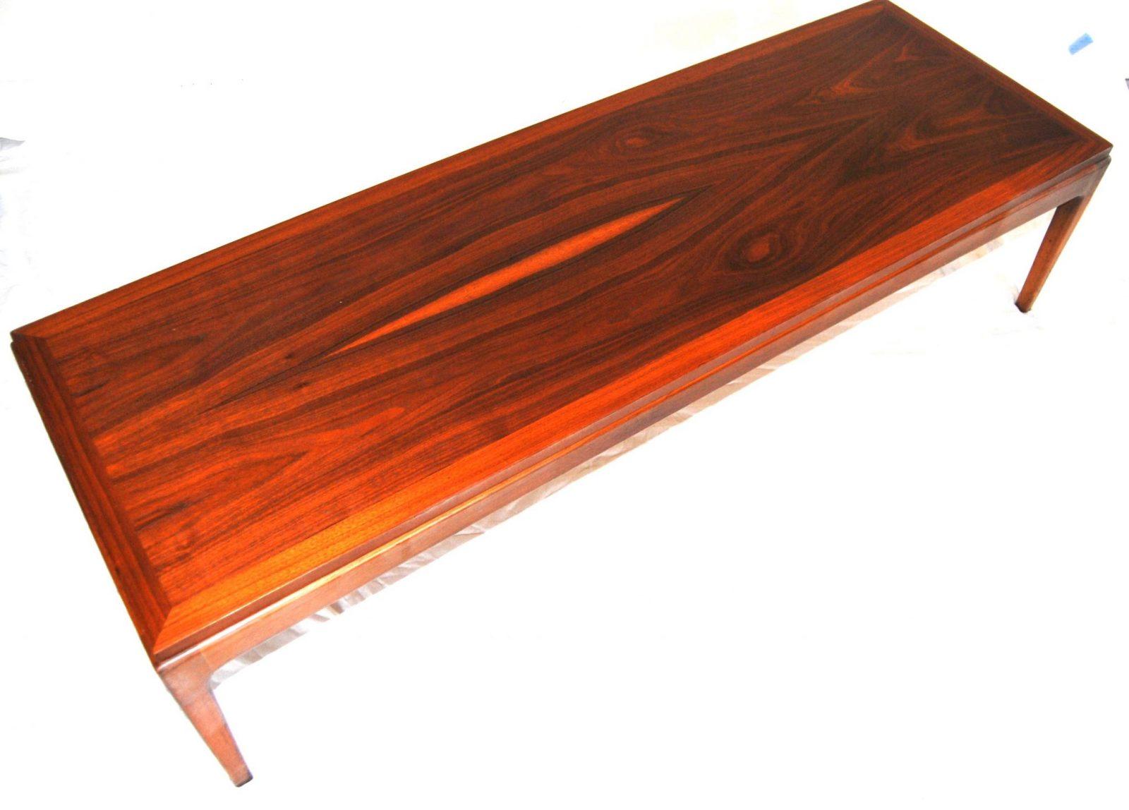 Mid Century Lane Coffee Bench Table