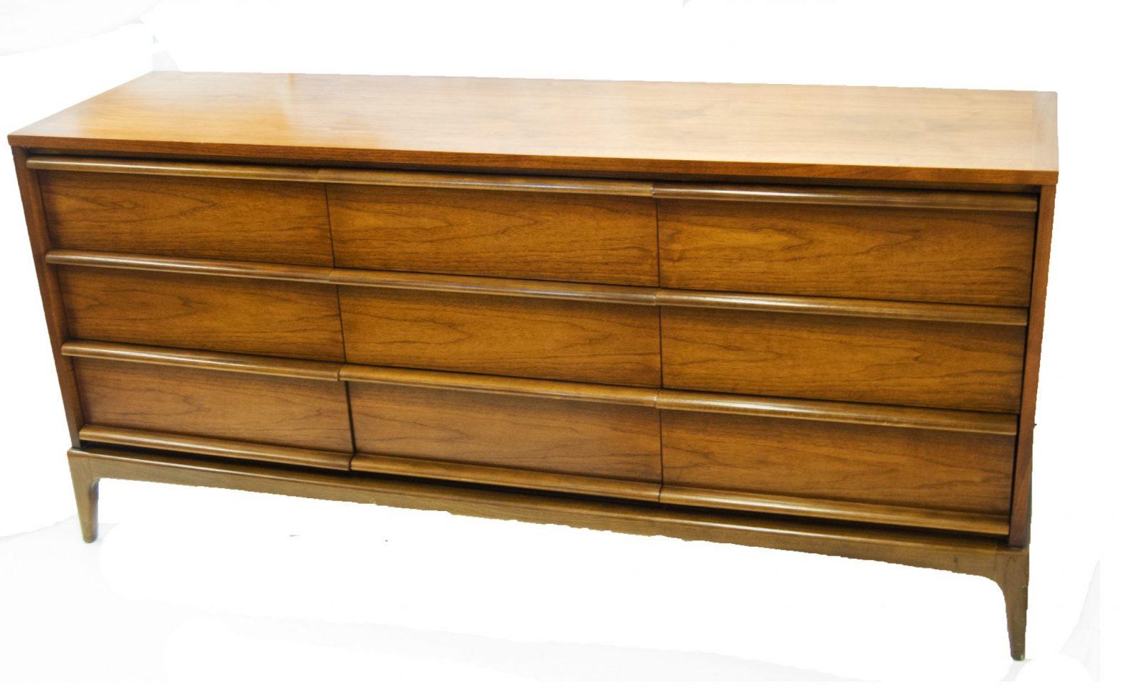 Danish Modern Dining Room Chairs Mid Century Danish Triple Dresser By Lane Furniture